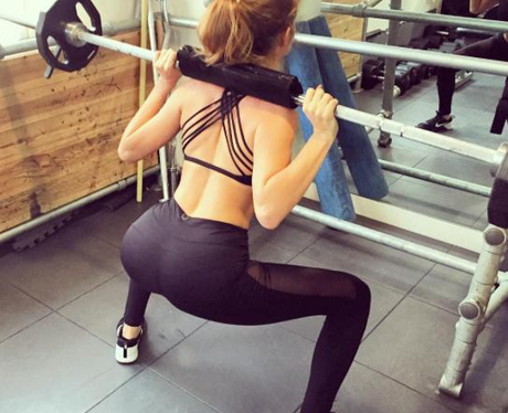 Millie Mackintosh Workout Instagram