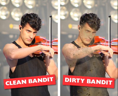Celebrity Names Puns - Clean Bandit