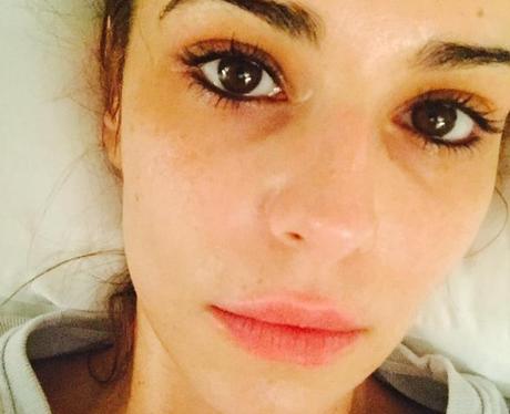 Cheryl Fernandez-Versini poses in 'sleepy' selfie