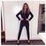 Image 5: FM Millie Mackintosh in black jumpsuit ahead of fa