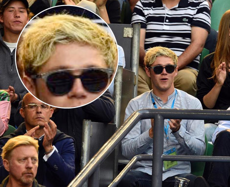 Niall New Hair Zoom