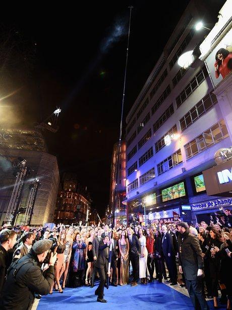 Zoolander 2 London premiere selfie stick