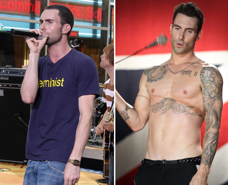 Adam Levine Body Transformation