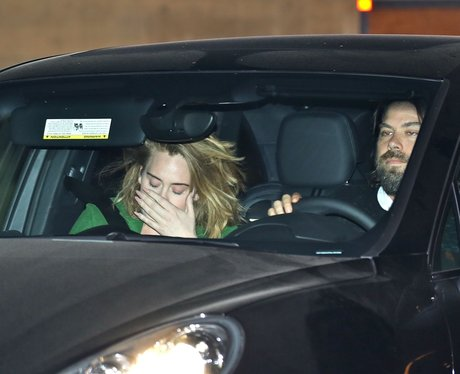 Adele and her boyfriend Simon