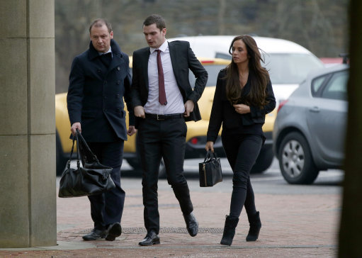 Former Sunderland Footballer Adam Johnson Goes On