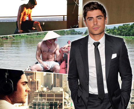 Where would Zac Efron take you on a Valentine's Day date?