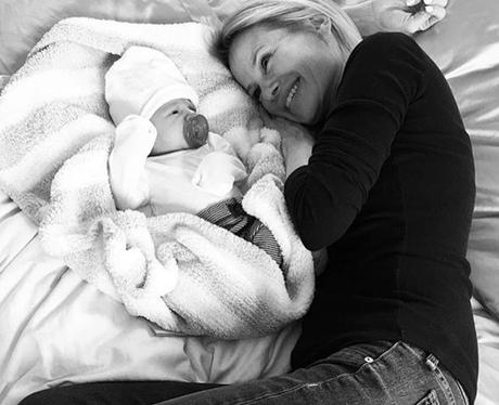 Briana's Mum with Freddie