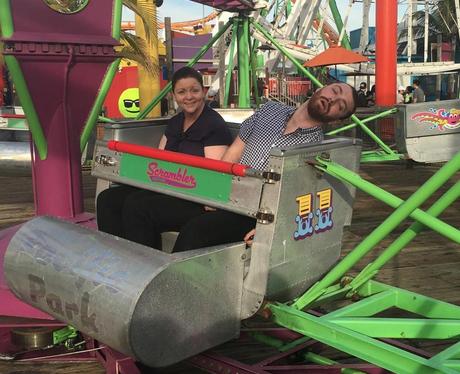 Sam Smith Disclosure Theme Park Instagram