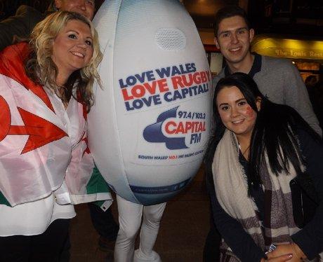 Spot the ball Wales V France