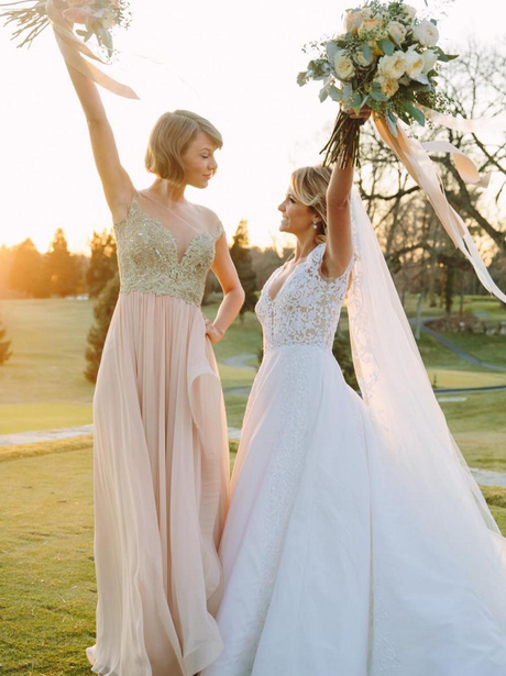 Taylor Swift is maid of honour for BFF's wedding