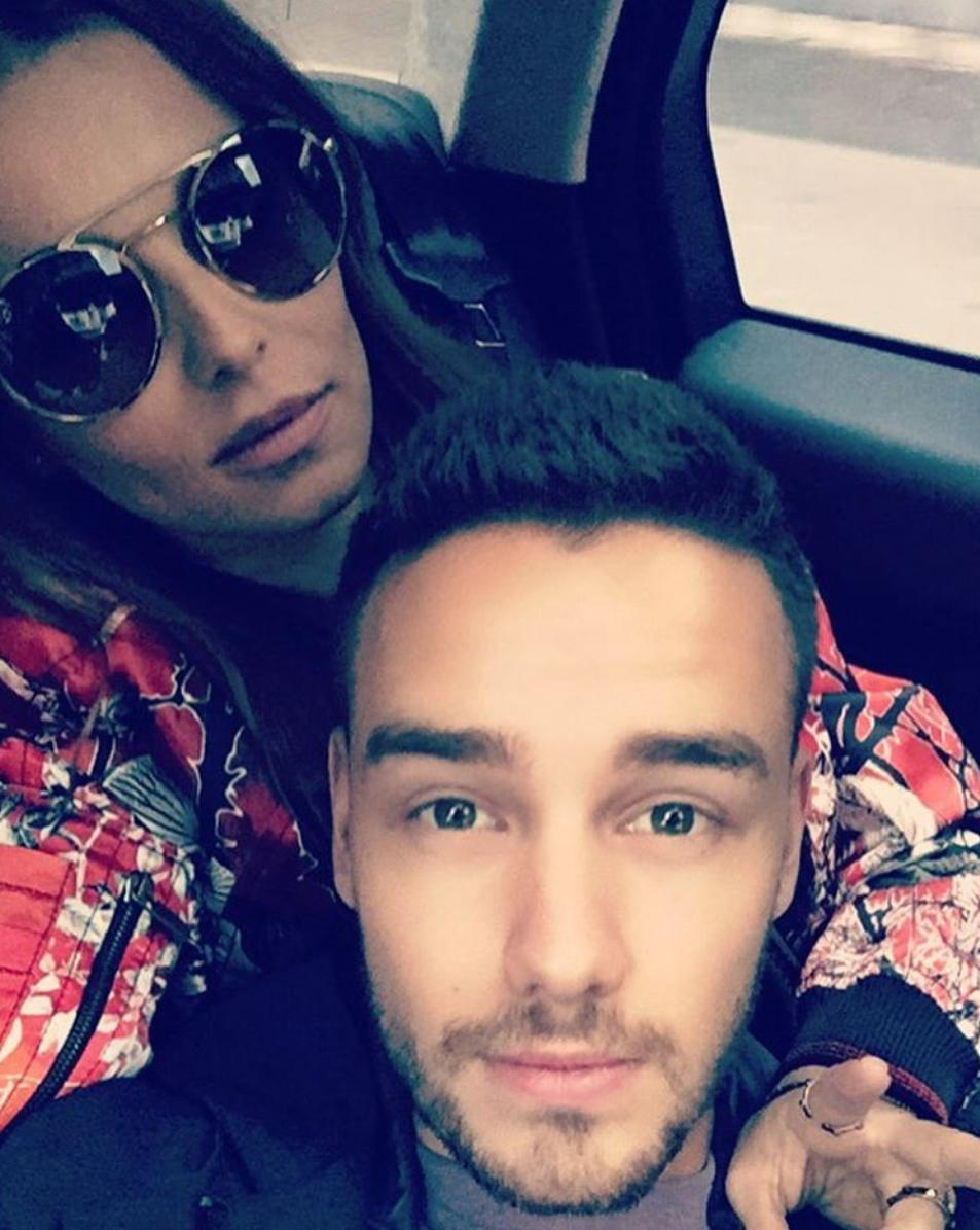 Cheryl and Liam Instagram 2016
