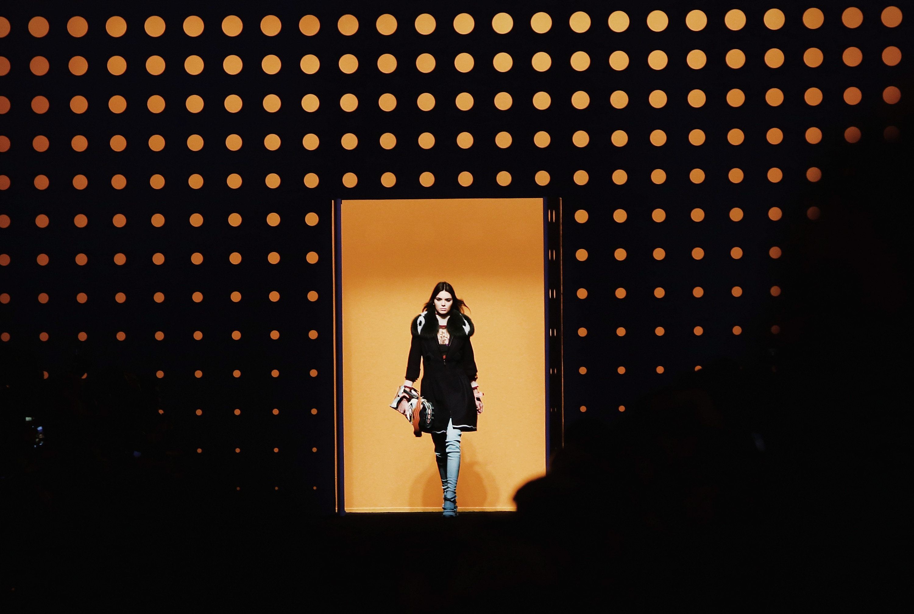 Kendall Jenner Fendi Milan Fashion Week FW16