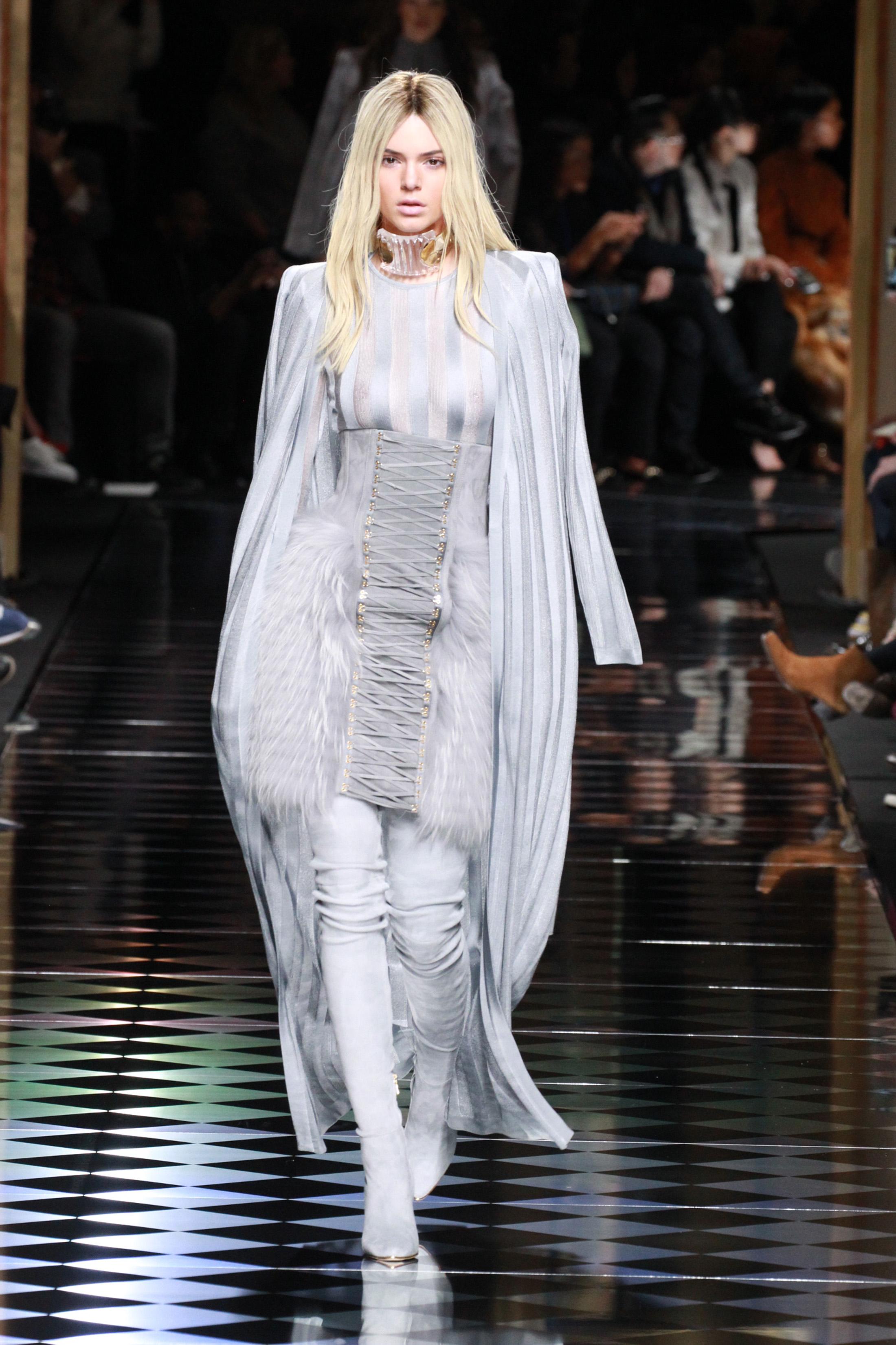 Kendall Jenner during Paris Fashion Week