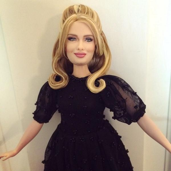 Adele As A Doll