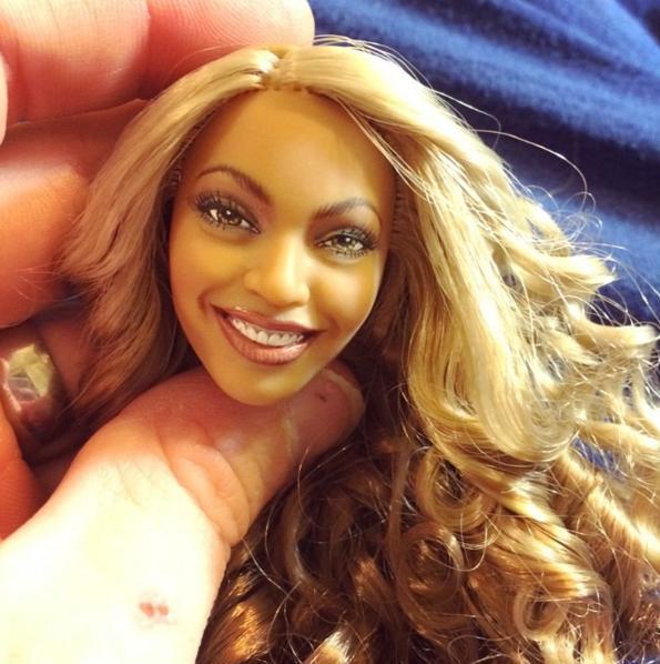 Beyonce As A Doll