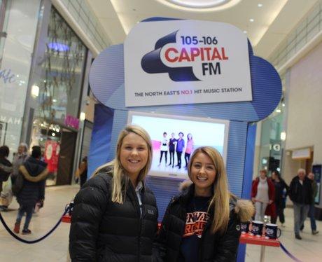 Capital's Hit Music Promo at Eldon Square