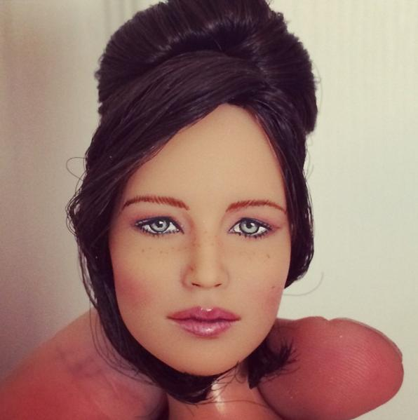 Jennifer Lawerence As A Doll
