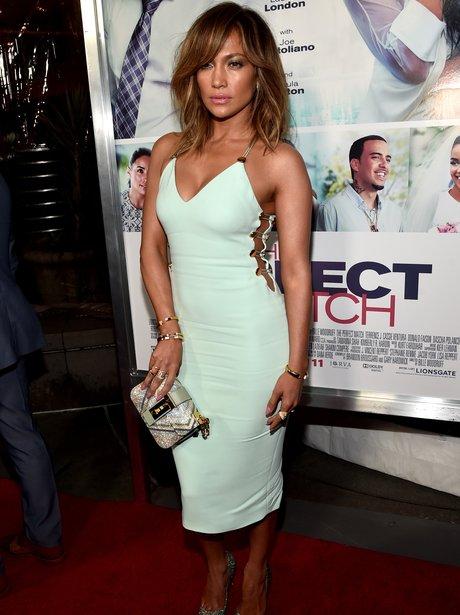 Jennifer Lopez at the Perfect Match premiere