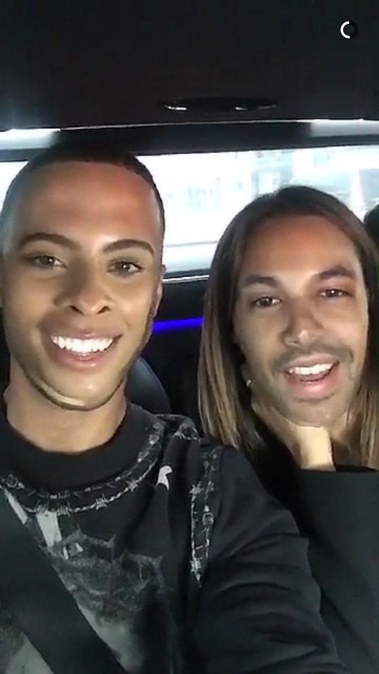 Marvin and Rochelle face swap