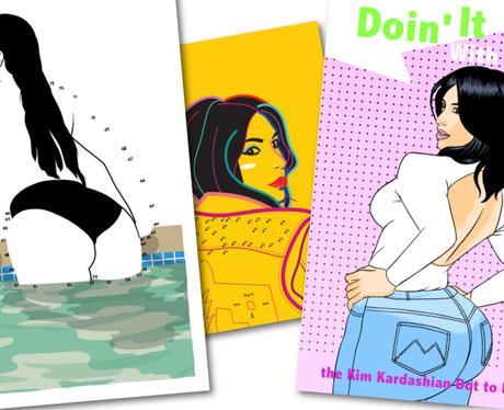 Kim Kardashian Colouring Book