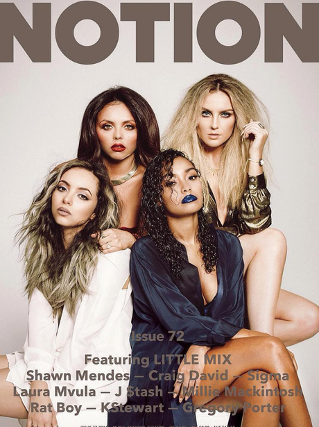 Little Mix on the cover of Notion magazine