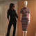 Image 9: Victoria Beckham poses as a mannequin