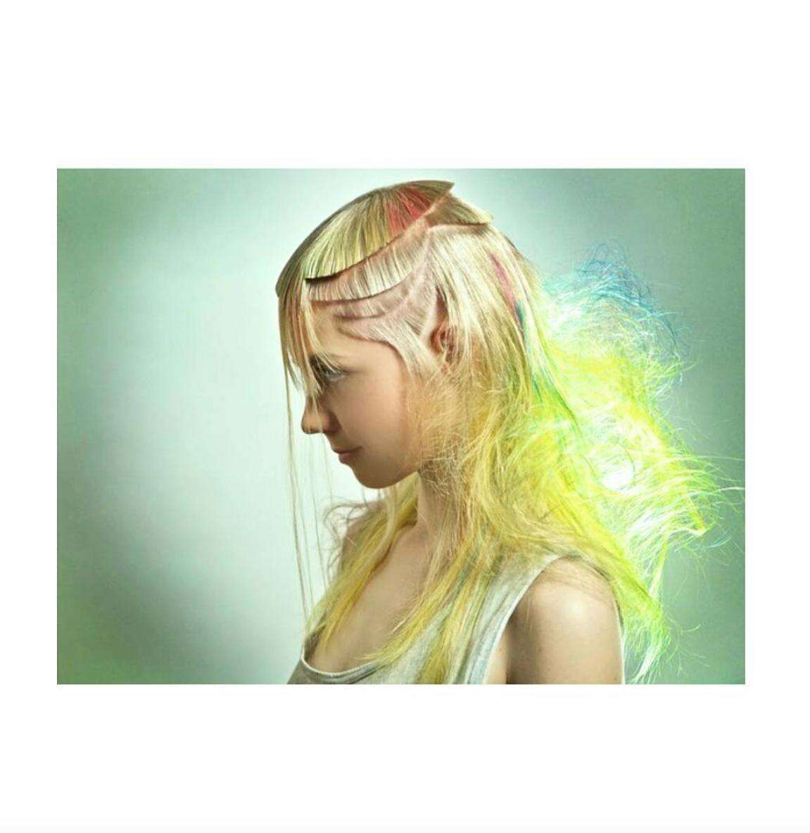 Weird hairstyle