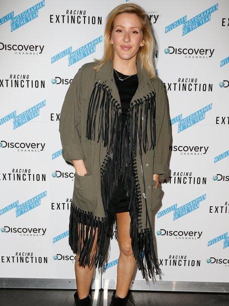 Ellie Goulding attends Racing Extinction film scre