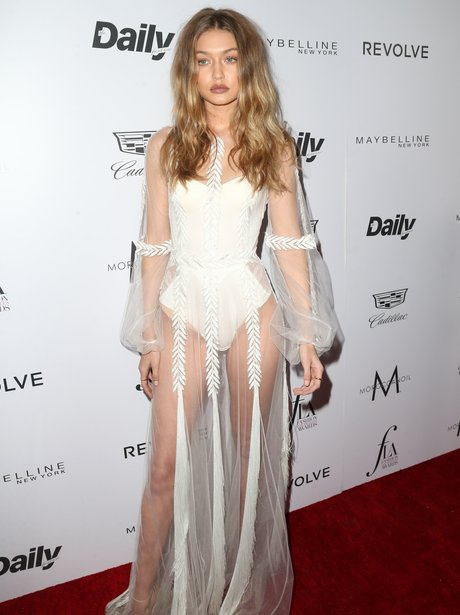 Gigi Hadid attends the Daily Front Row