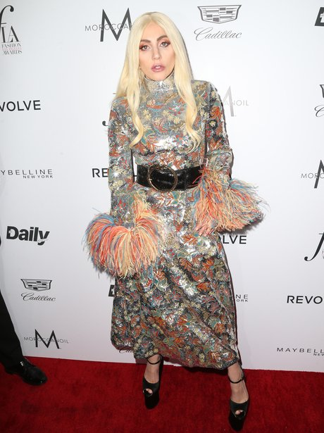 Lady Gaga attends the Daily Front Row