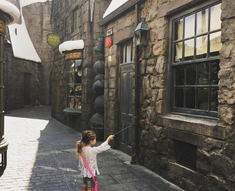 Penelope Disick enjoys some Harry Potter magic
