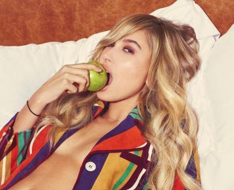 Hailey Baldwin in Vogue Brazil