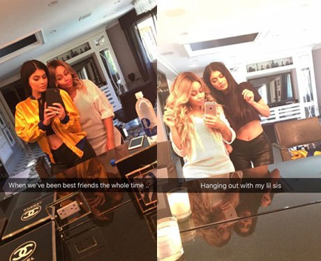 Kylie Jenner and Blac Chyna's spend the day togeth