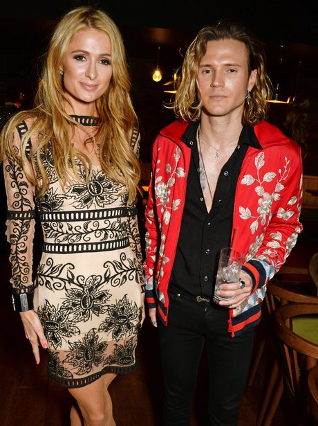 Paris Hilton and Dougie Poynter