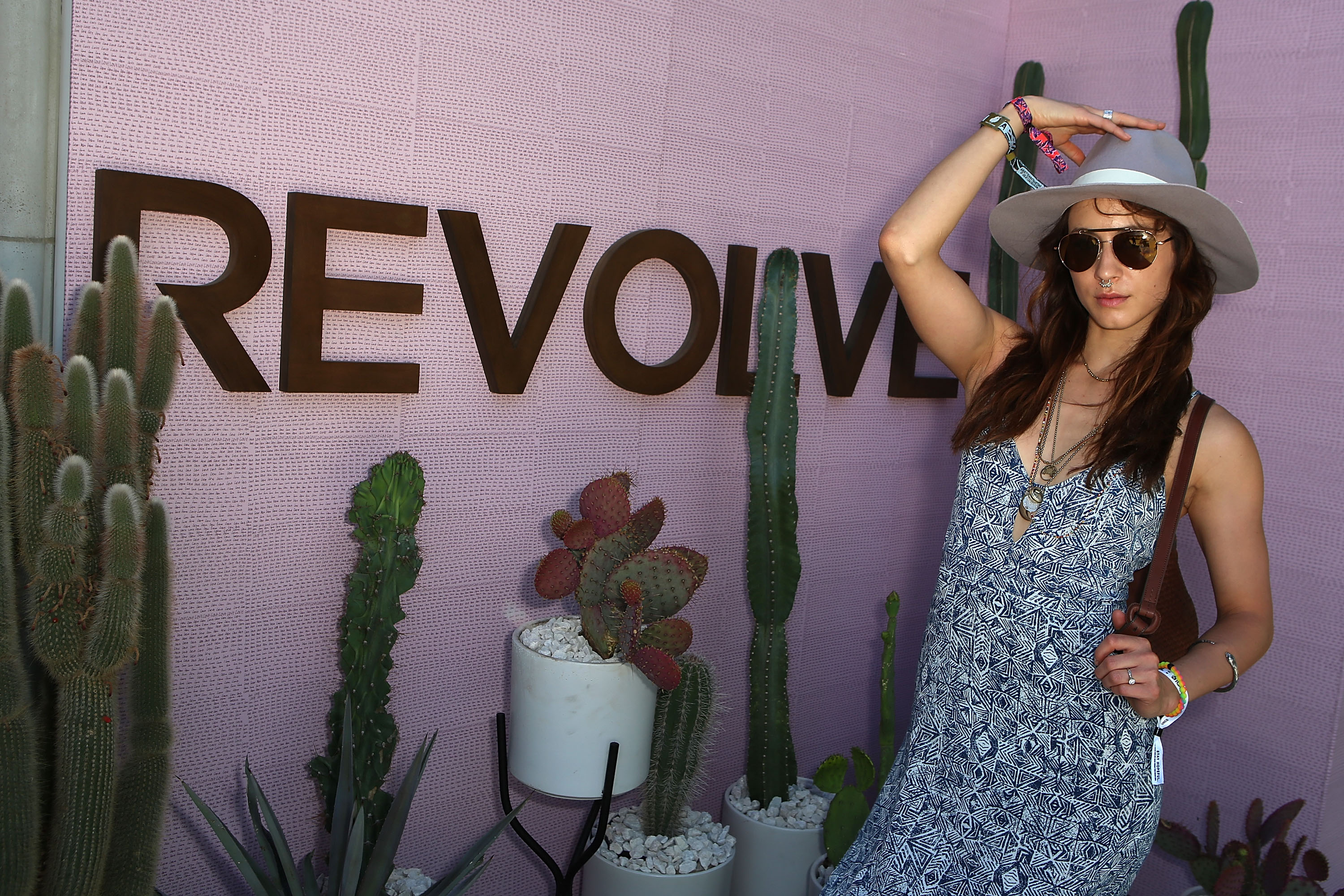 Troian Bellisario at Coachella
