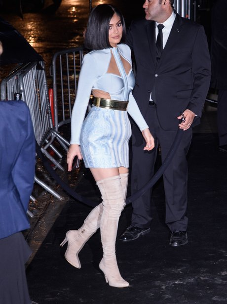 Kylie Jenner attends Met Gala after party in Balma