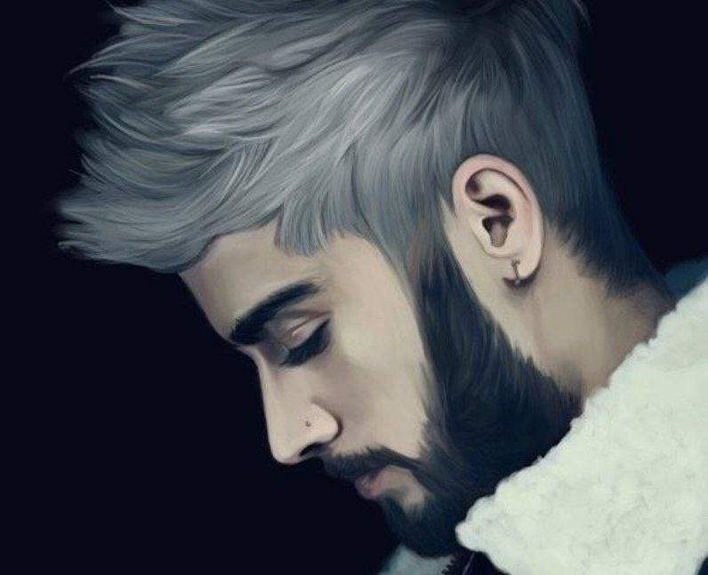 Always On Trend Zayn S Hair Colour Goes Grey 8 Pieces