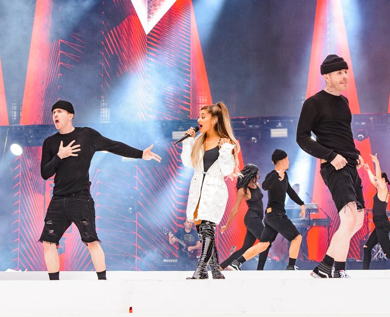 Ariana Grande at the Summertime Ball 2016