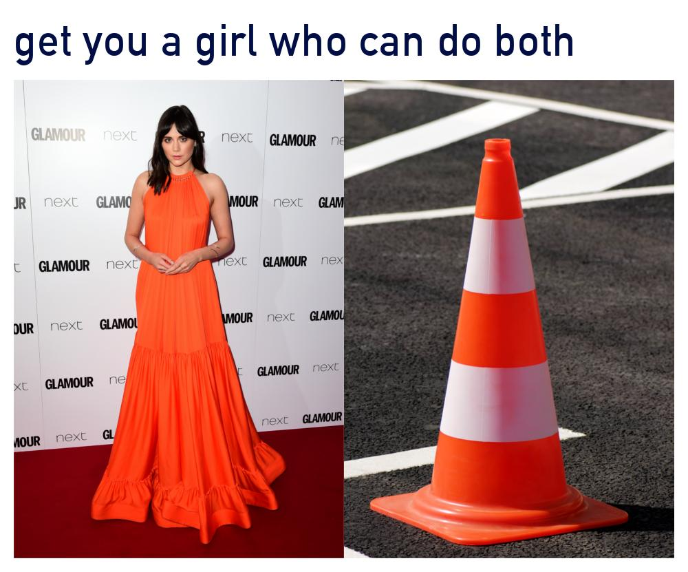 Lilah Parsons Glamour Awards Meme