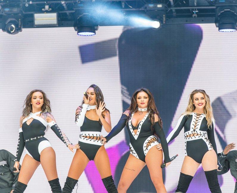 Little Mix at Summertime Ball 2016