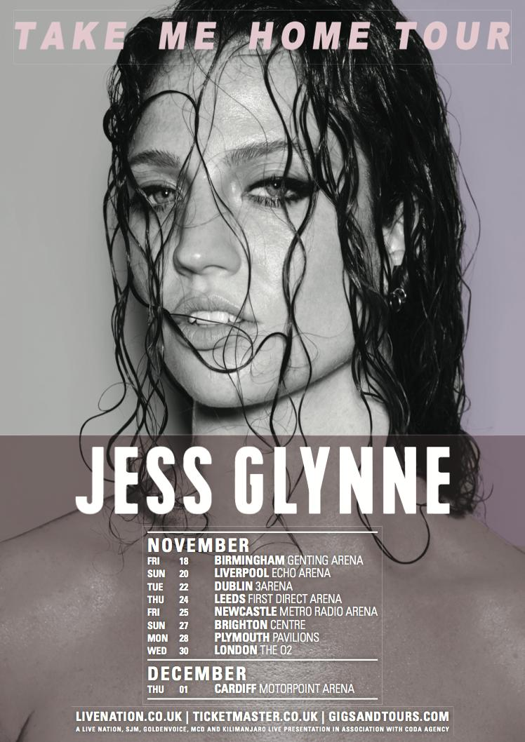 Jess Glynne UK Tour 2017