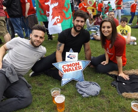 Cardiff Fanzone: Wales V Northern Ireland