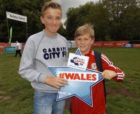 Cardiff Fanzone: Wales V Northern Ireland