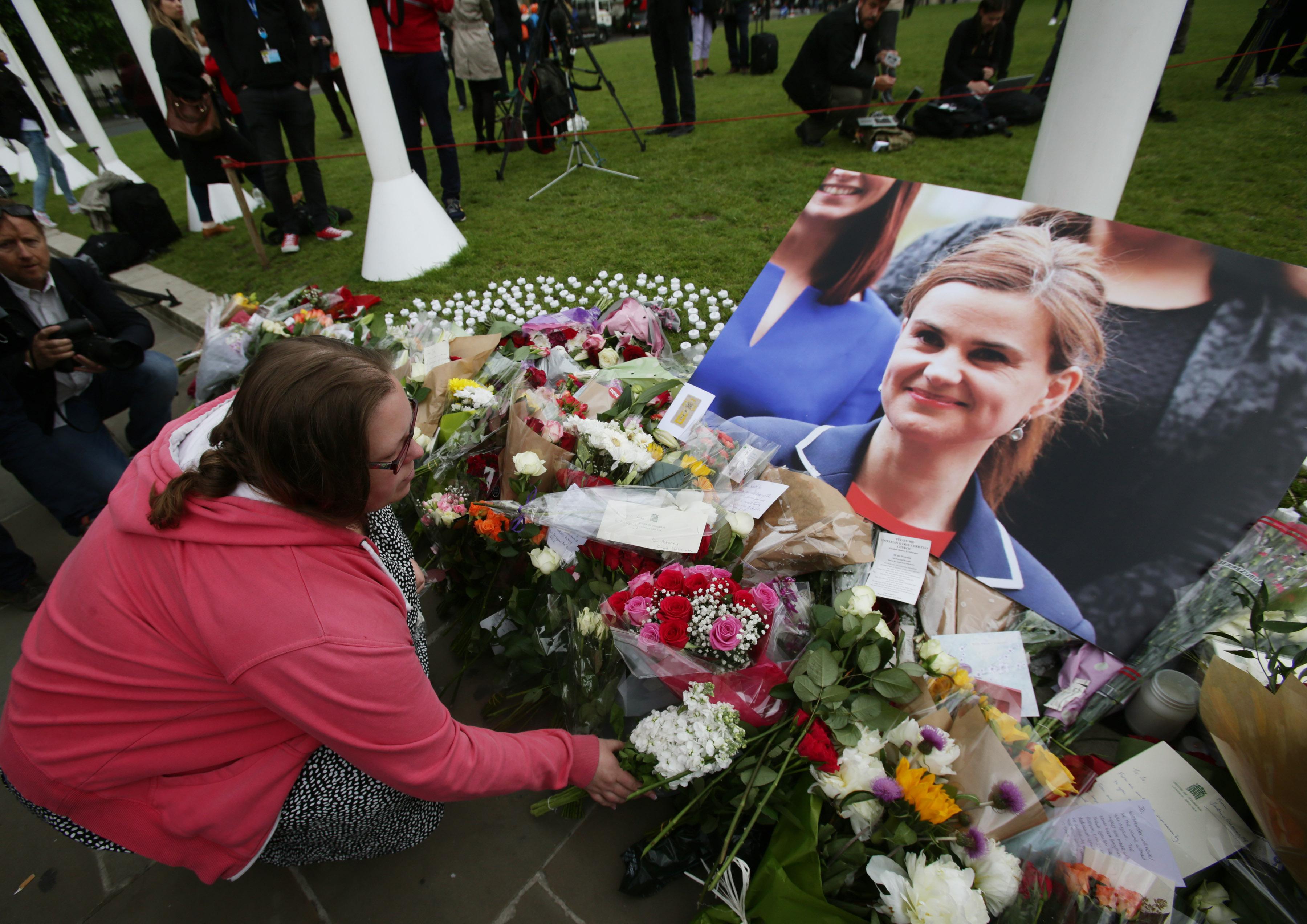 Jo Cox MP memorial
