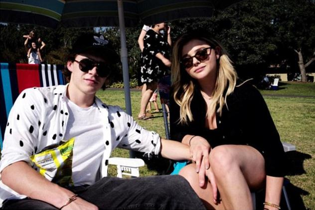 Brooklyn Beckham and Chloe Moretz