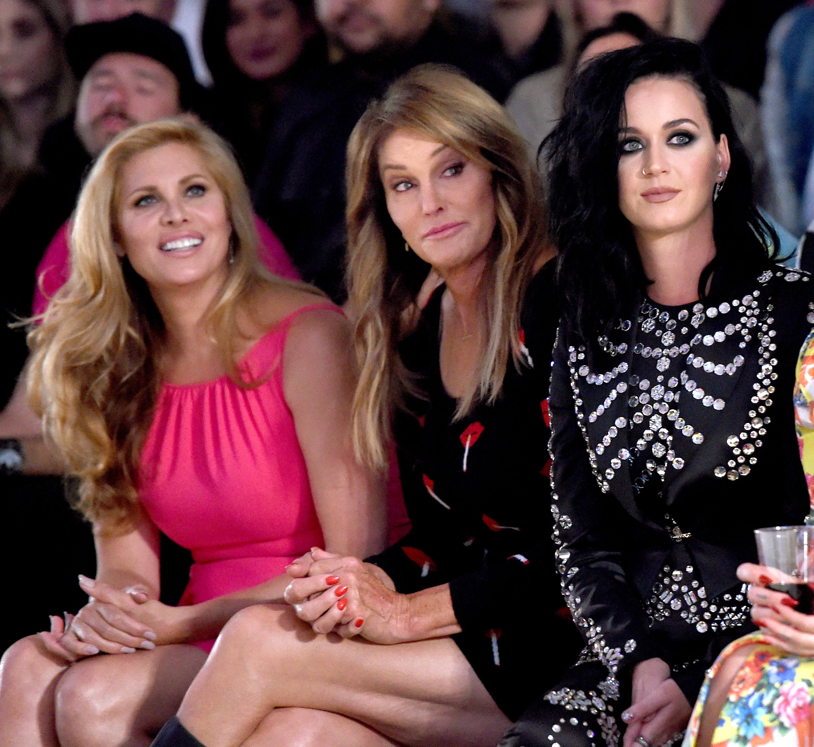 Katy Perry & Caitlyn Jenner at the Made LA: Moschi