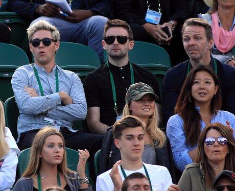 Niall Horan at Wimbledon 2016