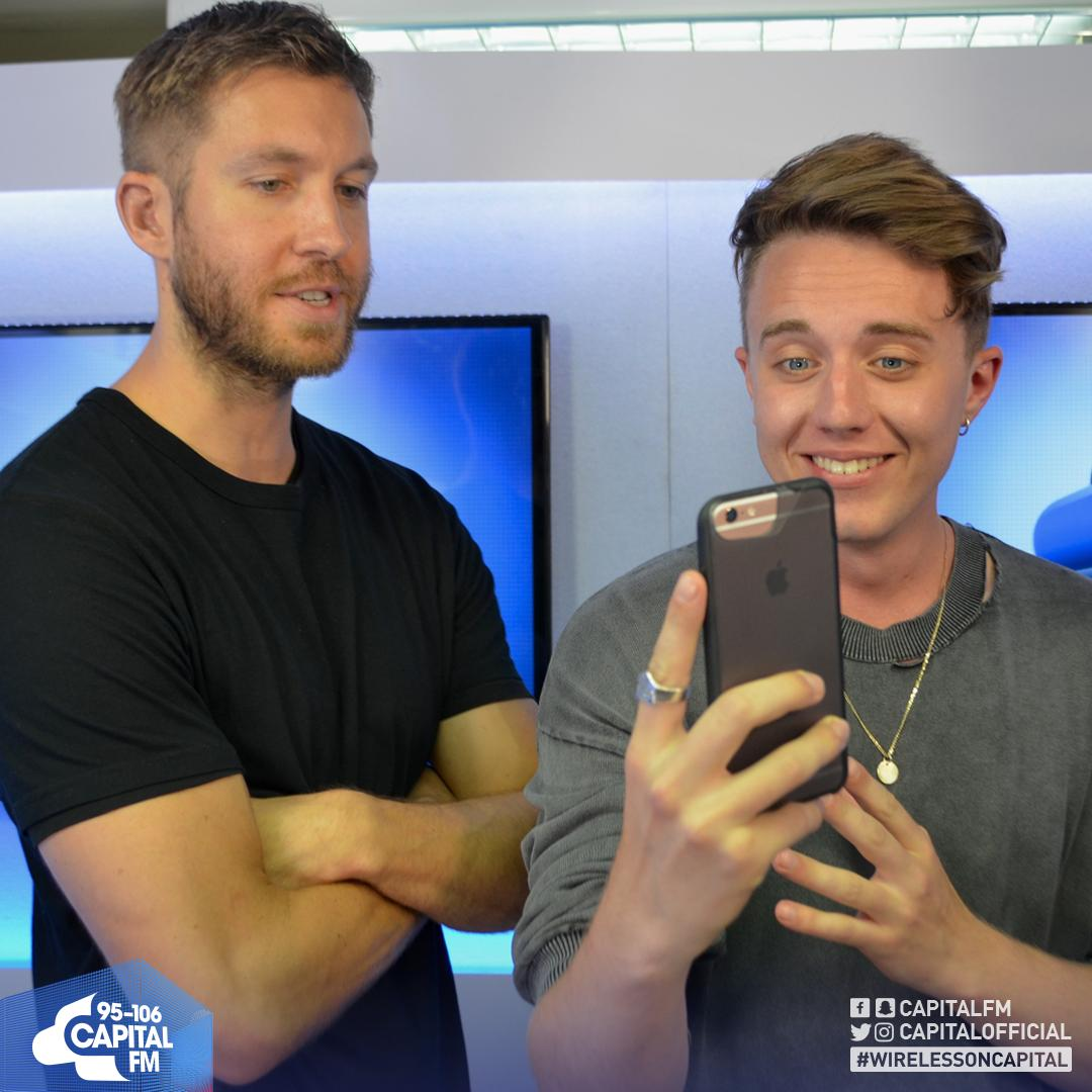 Roman Kemp & Calvin Harris Wireless Festival