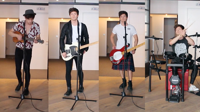 Connor Ball does a cover of Twenty One Pilots