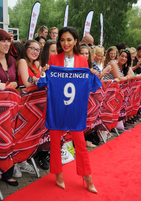 Nicole Scherzinger at X Factor Auditions 2016 - Le